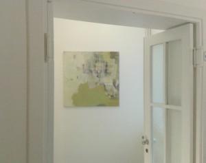 Antje_Ketteler_in_der_Galerie_an_der_Ruhr_105x105_Collage_auf_Leinwand20131219_122205