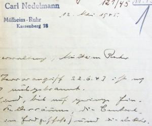Carl_Nedelmann_Schriftwechsel