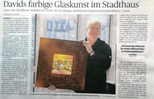 Artikel aus der Rheinische Post zur Ausstellung von Doc Davids im Stadthaus Rheinberg 2014