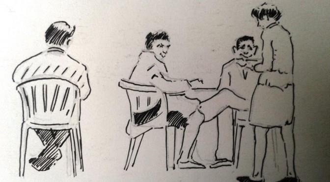 Mehrfach ausgezeichnet – Zeichnungen von Fernand Luickx