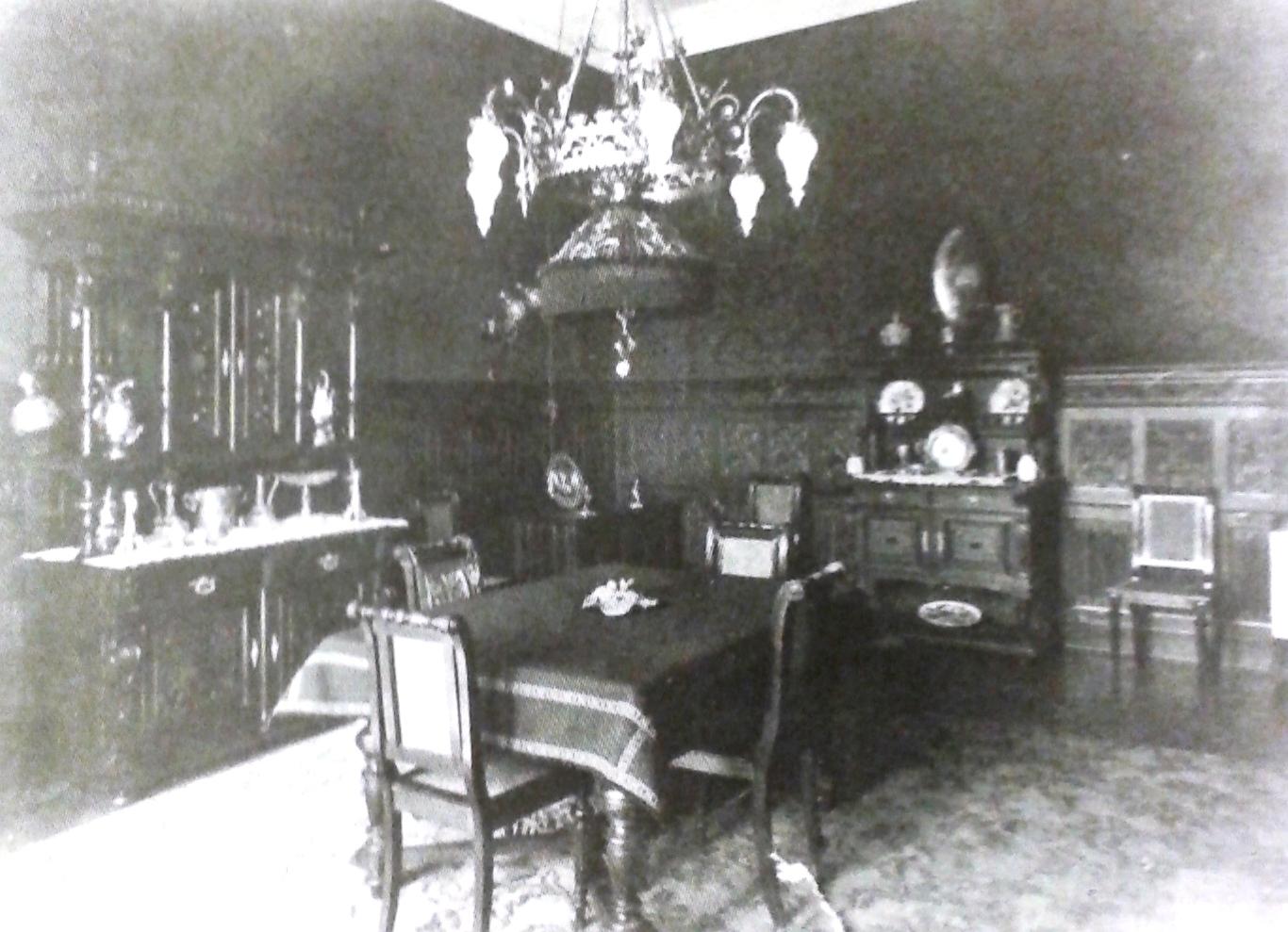 Esszimmer 1900