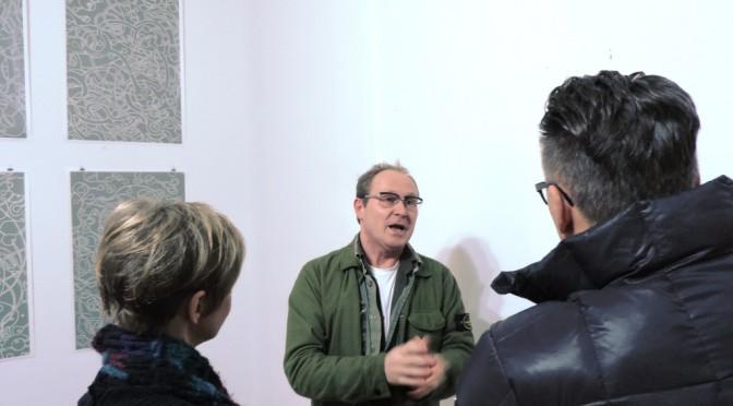 """Peter Helmke zeigte  """"BEFESTIGTE BEZIEHUNGEN"""" bis 29. März 2015 in der Kunststadt Mülheim"""