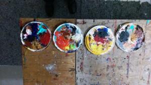 Tellerkunst im Pollock-Jahr 2017 KUNSTSTADT MÜLHEIM