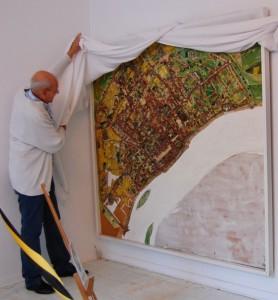Werk_Colonia_Agrippina_von_Theo_Giesen_in_der_Galerie-an-der-Ruhr_Galerieleiter_Alexander-Ivo_Franz