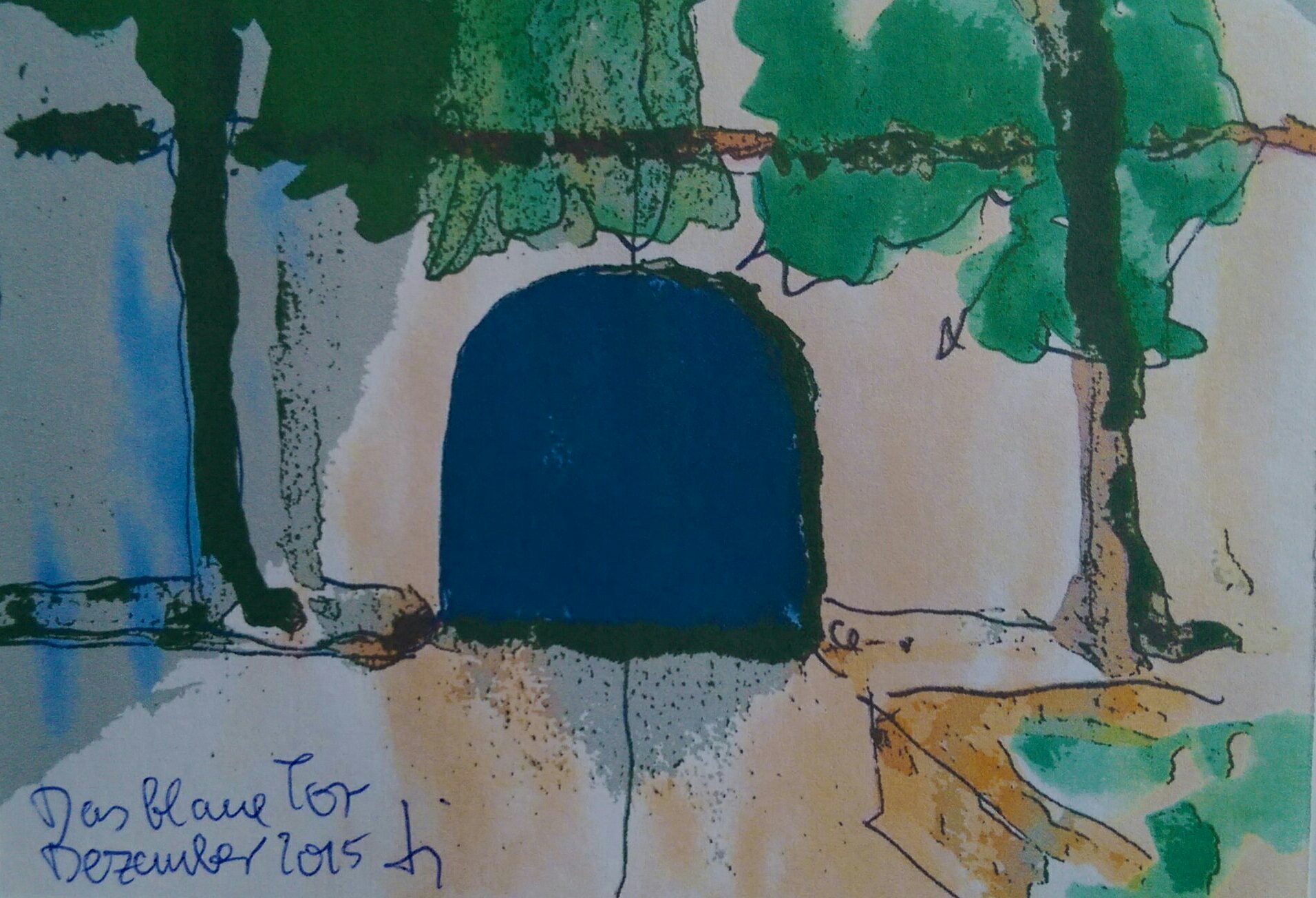 Delle 54 in der Kunststadt Mülheim - das Blaue Tor zum KUNSTRESORT RUHR