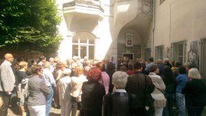 Über 300 Besucher bei der Ausstellung KONTRAPUNKT im Kunstbahnhof Mülheim in der Galerie an der Ruhr, Ruhrstr. 3