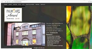 Webseite von Doc Davids im Jahr 2017