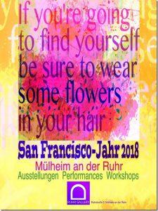 Plakate zum SAN FRANCISCO YEAR 2018 von Klaus Heckhoff gestaltet