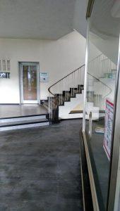 Ursprünglicher Eingang zum Treppenhaus der Ruhrstr. 3 (u.a. Firmensitz SYNTANA-Harke) - zugemauert auf Seiten der Ruhrstr. 3