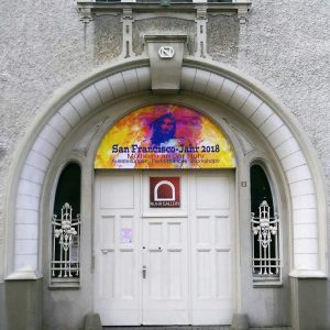 Portal des KULTURPALAIS MÜLHEIM RUHRANLAGE Jugendstilvilla in der Kunststadt Mülheim an der Ruhr