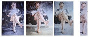"""Composition von Bernadett Wiethoff """"Lesender"""""""