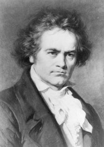 Ludwig van Beethoven gemalt von Karl Jäger (1933-1867)