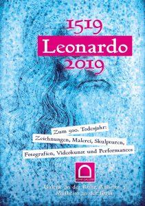 """Plakat zum """"Leonardo da Vinci-Jahr 2019 in der Stadt Mülheim an der Ruhr"""" gestaltet von: Klaus_Wiesel, Retusche: Domi Schymura"""