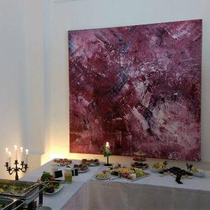 Kunstliebe geht durch den Magen - Vernissage in der RUHR GALLERY MÜLHEIM