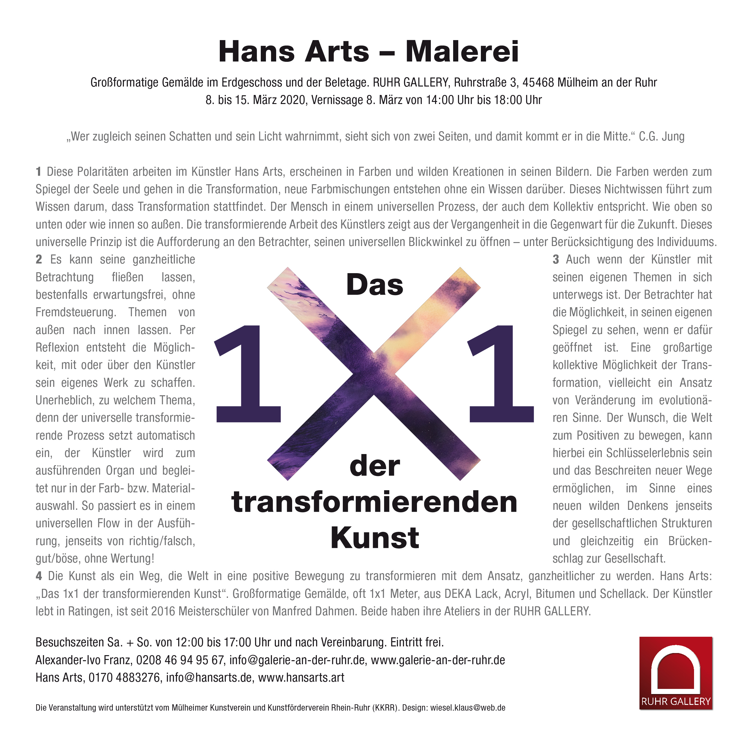 Dieses Bild hat ein leeres Alt-Attribut. Der Dateiname ist Hans-Arts-Einladung_1x1_der_transformierenden_Kunst_RUHR_GALLERY_MUELHEIM_MLHMRHR-2.jpg